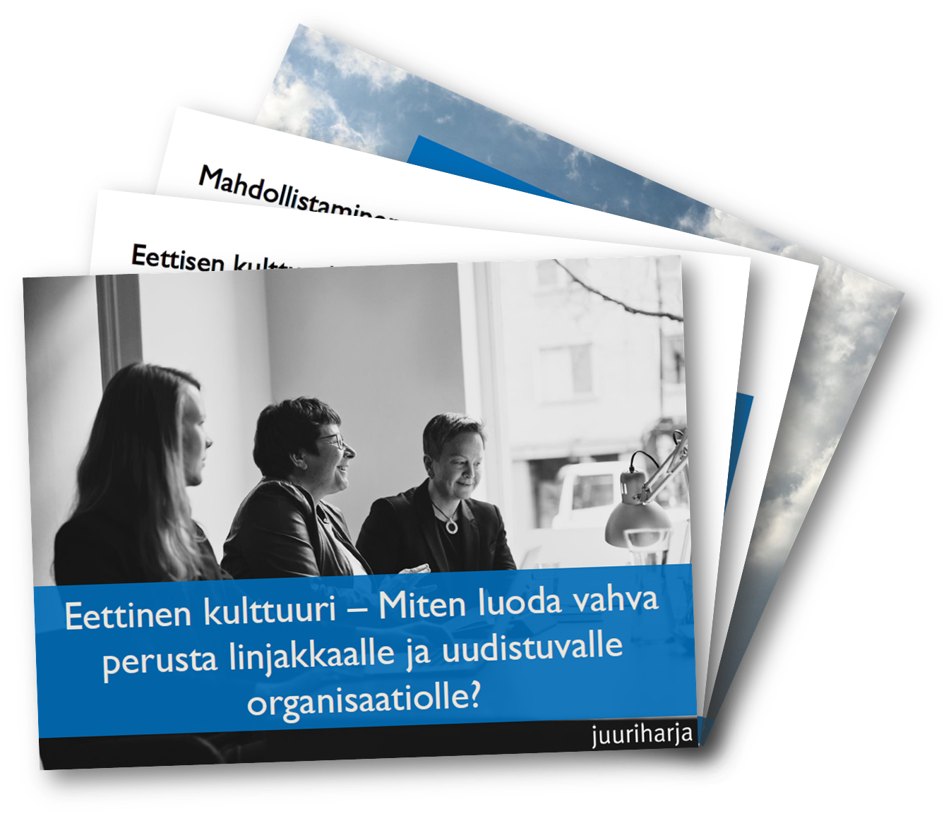 Eettinen kulttuuri - Miten luoda vahva perusta linjakkaalle ja uudistuvalle organisaatiolle?