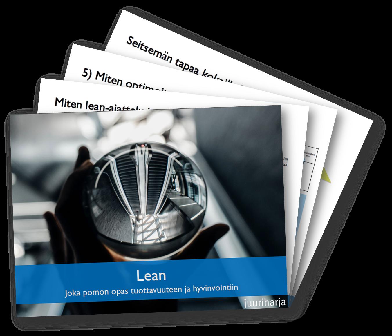 Lean -pikaopas tuottavuuteen ja hyvinvointiin