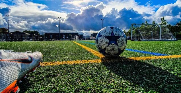 JG blogi football field
