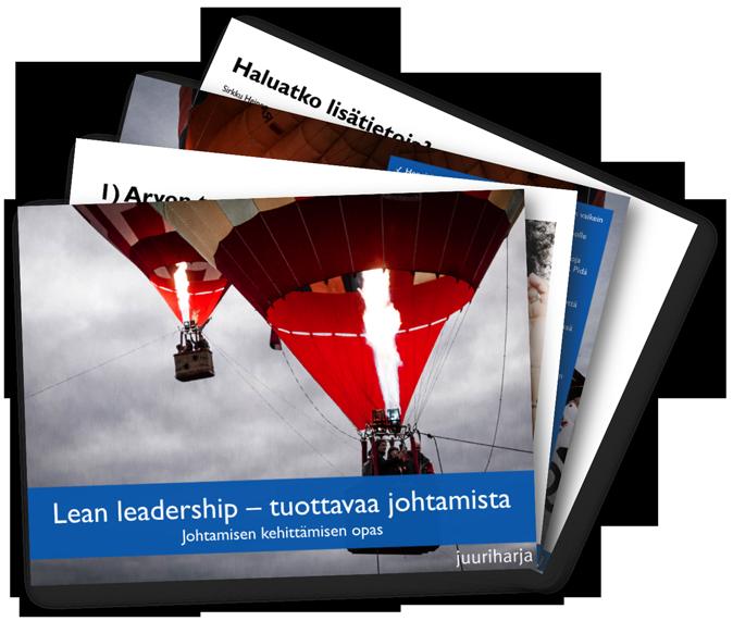 Lean leadership opaskuva
