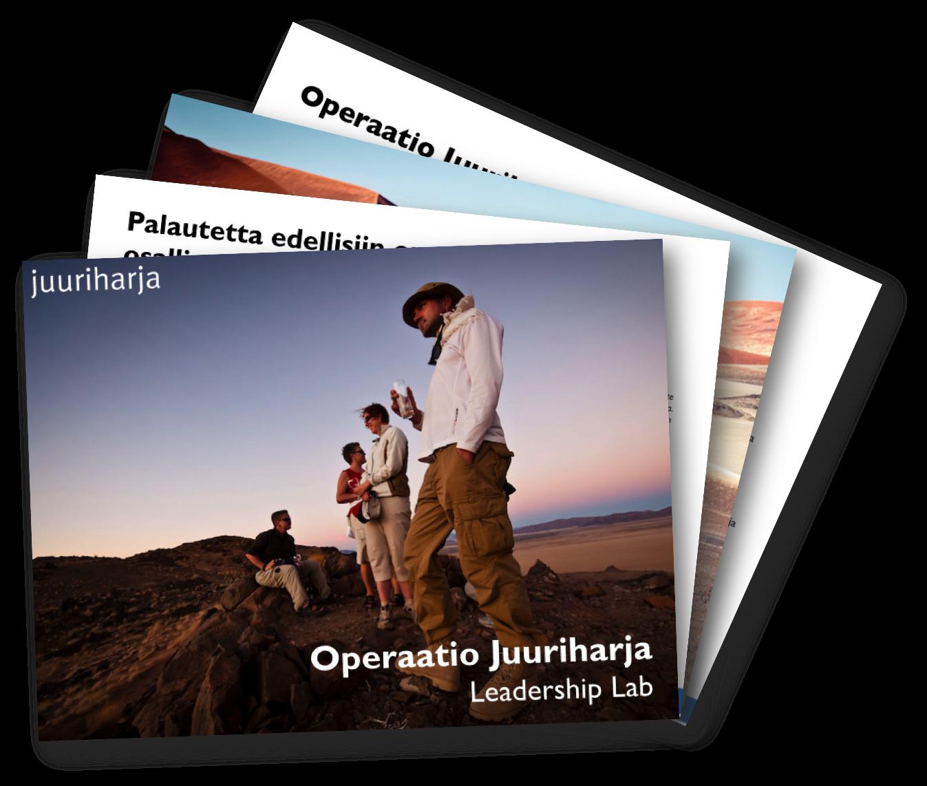 Operaatio Juuriharja Leadership lab
