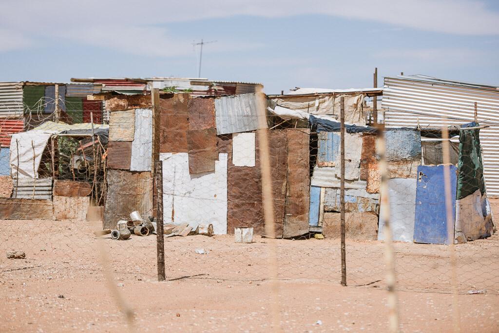 Hökkelikylän asumuksia